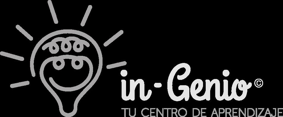 Logotipo de Centro in-Genio en escala de grises